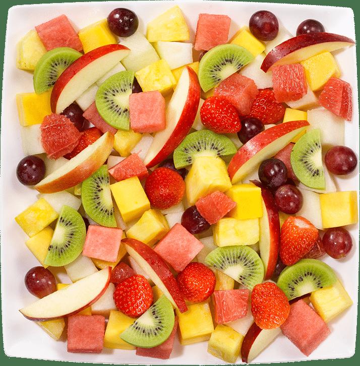 Feestelijke fruitsalade